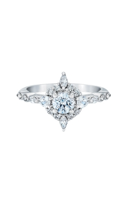 Albert's 14k White Gold 1ctw Diamond Engagement Ring L8806-WGE40 product image