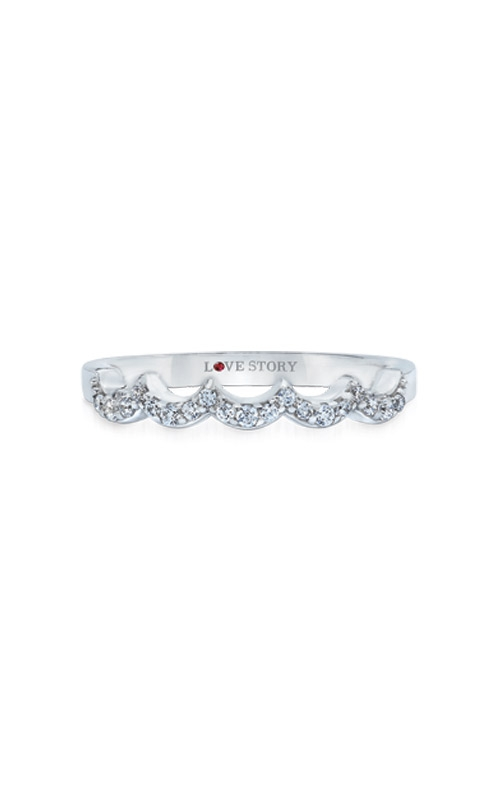 Love Story 14k White Gold 1/8ctw Diamond Enhancer LB8454-WG product image