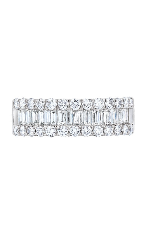 Love Story 14k 3/4ctw Baguette and Round Diamond Wedding Band LDB3390 product image