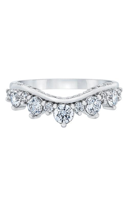 Love Story 14k White Gold 1/2ctw Diamond Wedding Band LD8746-50 product image