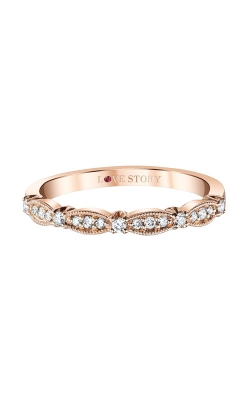 Love Story 14k Rose Gold 1/6ctw Diamond Band LS0008B-41P-.50 product image
