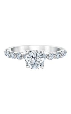 Albert's 14k White Gold 1/2ctw Diamond Semi Mount LS0144E-41W-1.00 product image