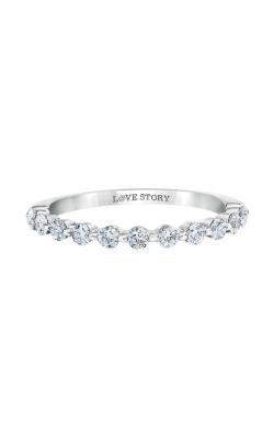 Love Story 14k White Gold 1/2ctw Diamond Band LS0142B-41W-.50 product image