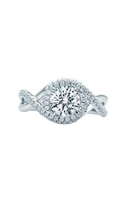 Love Story 14k White Gold Diamond Semi Engagement Ring LSBE1212N-FWA product image