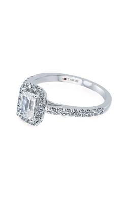 Love Story 14k 1/2ctw Diamond Semi Mount Ring LSBE4828Z-FWA product image