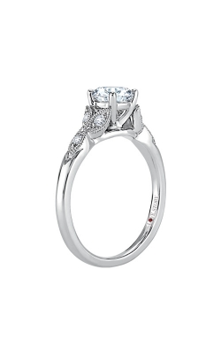Love Story 14k White Gold 1/10ctw Semi Mount Ring LSBEV19Z-FWA product image