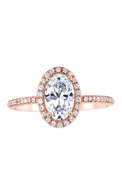Love Story 14k 1/5ctw Semi Diamond Engagement Ring SIR020OV1077LJP product image