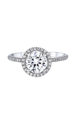 Love Story 14k White Gold 1/5ctw Semi Mount Engagement Ring SIR020R1077LJ2W product image
