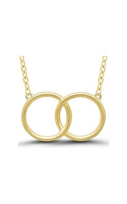 Matchers Yellow Interlocking Circles Necklace 2464990007Y product image