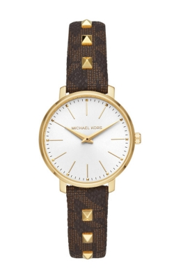 Michael Kors Pyper Gold Tone and Leather Watch MK2871 product image