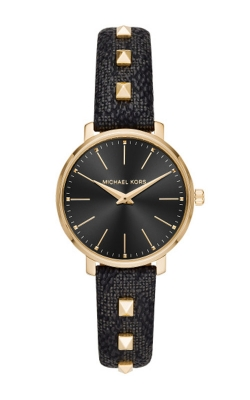 Michael Kors Pyper Gold Tone And Leather Watch MK2872 product image