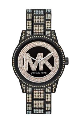 Michael Kors Ritz Black Logo Crystal Watch MK6733 product image