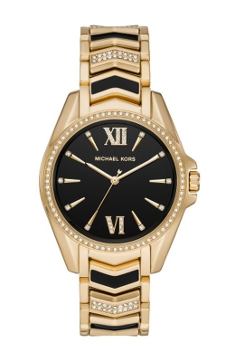 Michael Kors Whitney Black and Gold Watch MK6743 product image