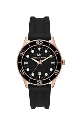 Michael Kors Men's Runway Rose Tone And Black Watch MK6852 product image