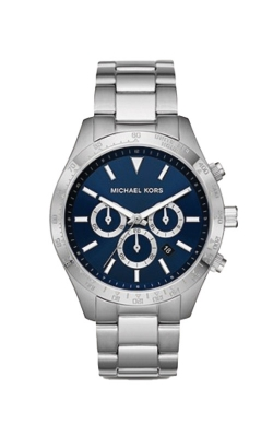 Michael Kors Men's Layton Stainless Steel Blue Chronograph Watch MK8781 product image