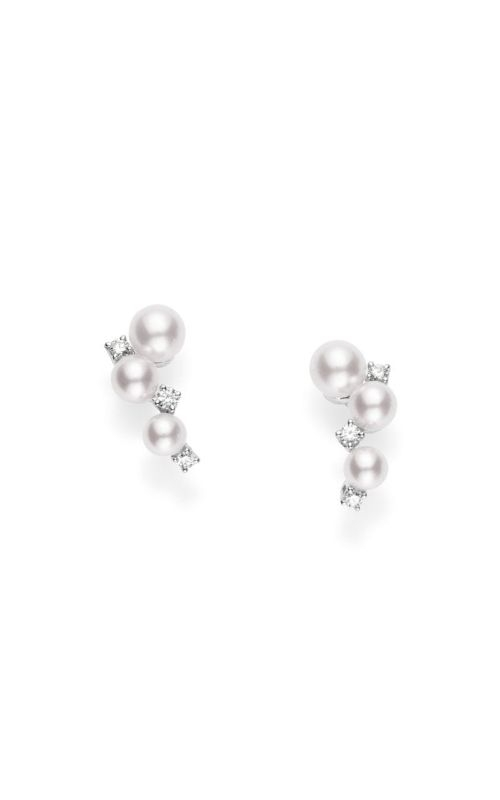 Mikimoto Akoya Pearl Bubbles Earrings MEQ10078ADXW product image