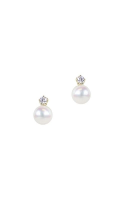 Mikimoto Akoya Cultured Pearl Earring With Diamonds MEQ10144ADXK product image