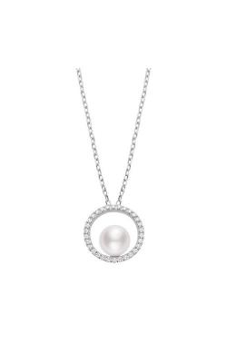 Mikimoto Akoya Cultured Pearl Pendant with Diamonds MPA10369ADXW product image