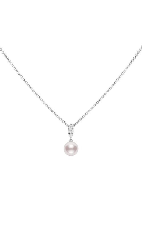 Mikimoto Morning Dew Akoya Cultured Pearl Pendant – 18K White Gold MPA10382ADXW product image