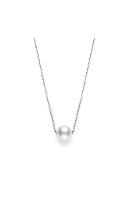 Mikimoto Akoya Single Pearl Pendant In 18K White Gold MPQ10042AXXW product image