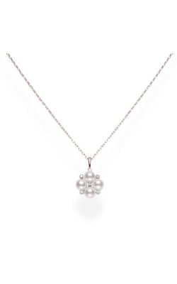 Mikimoto Akoya Cultured Pearl Pendant With Diamonds In Rose Gold MPQ10086ADXZ product image