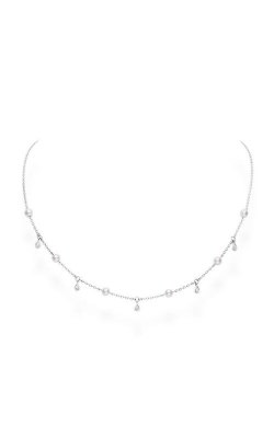 Mikimoto Akoya Cultured Pearl And Diamond Necklace MPQ10087ADXW  product image