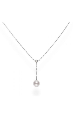 Mikimoto Akoya Cultured Pearl And Diamond Drop Pendant MPQ10088ADXW product image