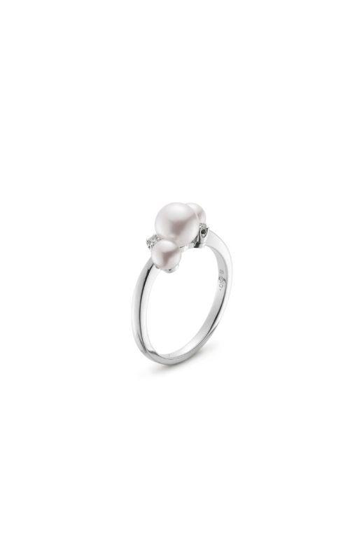Mikimoto Akoya Pearl & Diamond Bubbles Ring MRQ10031ADXW product image