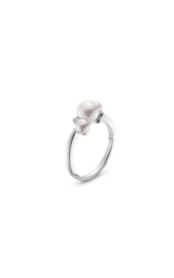 Mikimoto Akoya Pearl & Diamond Bubbles Ring MRQ10031ADXW product image