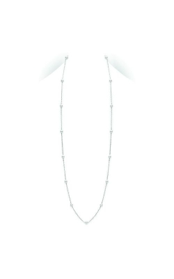 "Mikimoto 32"" Akoya Cultured Pearl Station Necklace In White Gold PCL2W product image"
