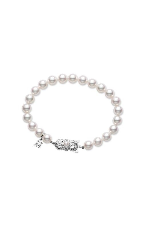 Mikimoto Strand Bracelet - White Gold Clasp - 7.5x7 mm, A quality UD75107W product image