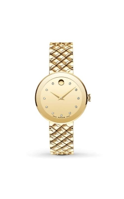 Movado Sapphire Gold 30mm PVD Watch 0607107 product image