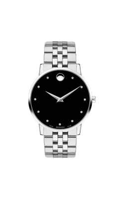 Movado Museum Classic 40mm Black Dial 0607201 product image