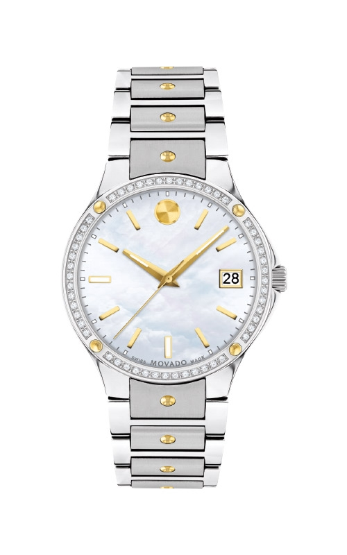 Movado SE Two Tone Stainless Steel Watch 0607517 product image