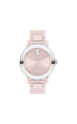 Movado BOLD Evolution 36mm Blush Ceramic 3600709 product image