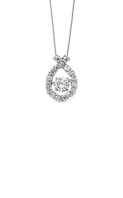 Rhythm of Love 14k White Gold 1/2ctw Diamond Pendant ROL1003 product image