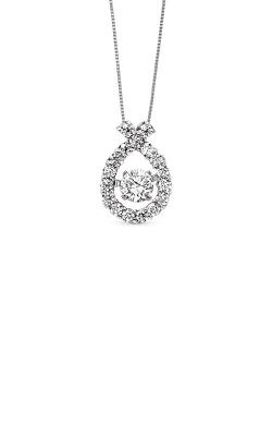 Rhythm Of Love 14k White Gold 1/2ctw Diamond Pendant ROL1003 product image