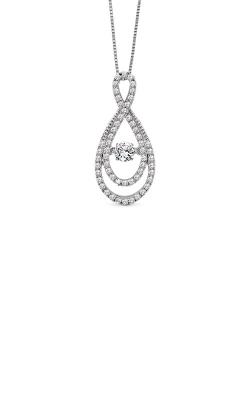 Rhythm of Love 14k White Gold .63cttw Diamond Pendant ROL 1011 product image