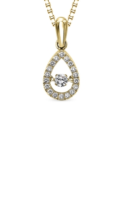 Rhythm Of Love Yellow Gold 1/5ctw Diamond Pendant ROL1023Y product image
