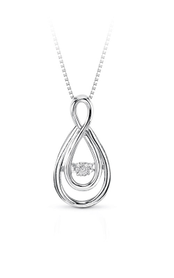 Rhythm Of Love Sterling Silver Diamond Pendant ROL1046 product image