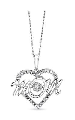 Rhythm of Love Sterling Silver Mom Diamond Pendant ROL1054 product image