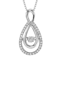 Rhythm of Love Sterling Silver 1/8ct Diamond Pendant ROL1030 product image