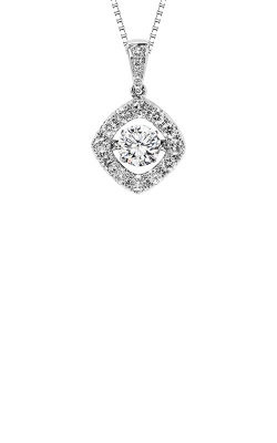 Rhythm Of Love 14k White Gold 1ctw Diamond Pendant ROL1154 product image