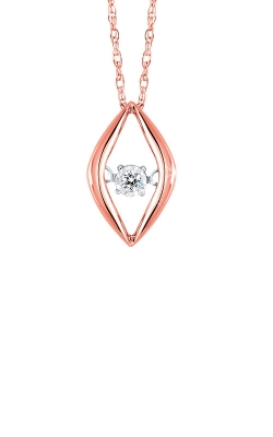 Rhythm of Love 10k Rose Gold Diamond Pendant ROL1228R product image