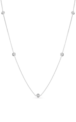 Roberto Coin 18kt Gold 5 Diamond Station Necklace 001316AWCHD0 product image