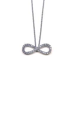 Roberto Coin 18kt Gold Infinity Pendant With Diamonds 001481AWCHX0 product image