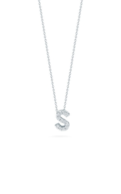 Roberto Coin 18kt Gold Love Letter S Pendant With Diamonds 001634AWCHXS product image