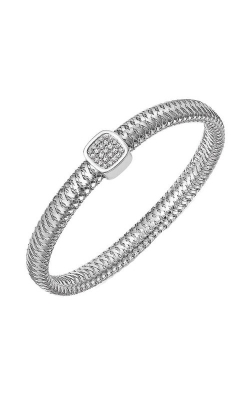 Roberto Coin 18kt Gold Flexible Bangle With Diamonds 5574019AWBAX product image