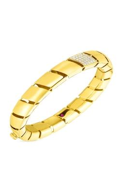 Roberto Coin 18kt Gold & Diamond Torchon Flat Edge Bangle 7771412AYBAX  product image