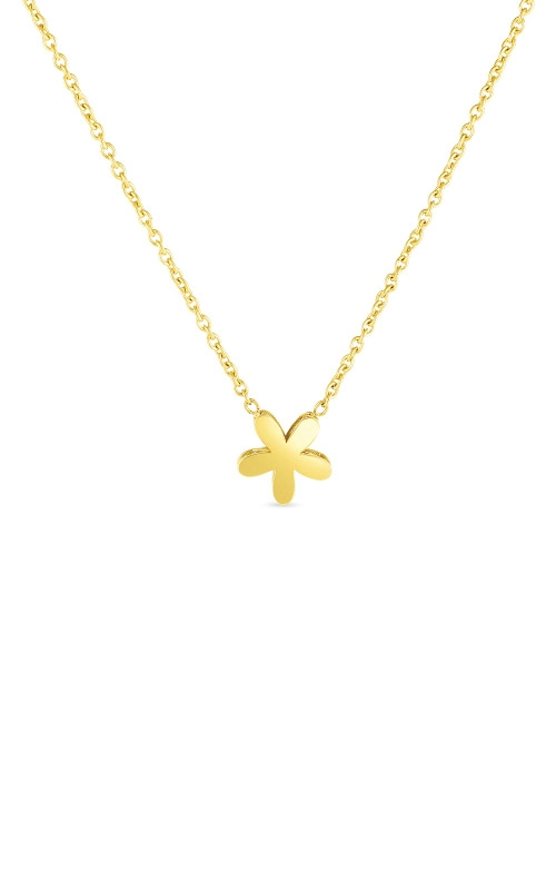 Roberto Coin 18kt Gold Y Fiore Princess Necklace 7771698AY160 product image